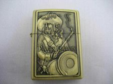 Buy Pirates Caribbean Brass Pocket Lighter #20 Free shipping