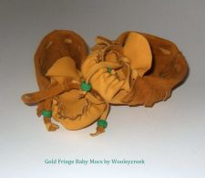 Buy Handmade Deerskin Leather Baby Moccasins With Fringe