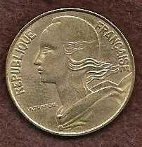 Buy France 20 Centimes 1977 FRENCH REPUBLIQUE FRANCAISE