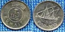 Buy Kuwait 20 Fils Coin Dhow Ship with Sails