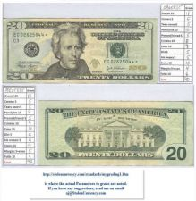 Buy 2004 $20 US Note with a STAR #ec02625044