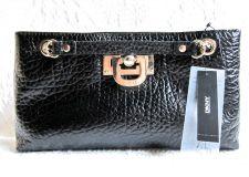 Buy NWT DKNY French Grain Clutch with Chain Handle Pursebag