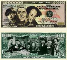 Buy Three Stooges Money