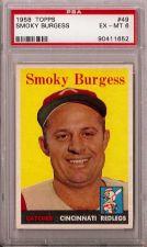 Buy 1958 Topps #49 Smoky Burgess PSA 6