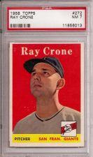Buy 1958 Topps #272 Ray Crone PSA 7