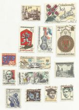 Buy CZECHOSLAVAKIA STAMP SET 5