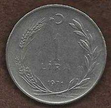 Buy Turkey 1 Lira 1971 Rare Coin!