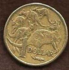 Buy Australia 1 Dollar 1985 $1 - Mob of Roos