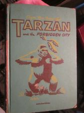 Buy Tarzan Book 1952 Whitman EDGAR RICE BURROUGHS The Forbidden City