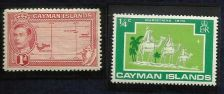Buy CAYMAN ISLANDS SG117 1938 1d SCARLET MTD MINT with bonus 1970 Stamp