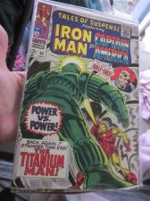 Buy Tales Of Suspense #93 Iron Man and Captain America Fine to VF range