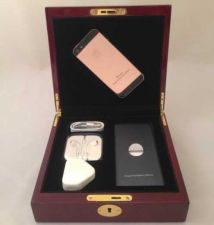 Buy Rose Gold Swarovski Crystal iPhone 5 64GB Factory Unlocked Brand new