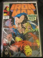 Buy Iron Man #272 Marvel Comics VF range 1991 -- 1st print