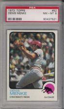 Buy 1973 Topps #52 Denis Menke Cincinnati Reds PSA 8 NM-MT