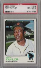 Buy 1973 Topps #29 Tony Taylor Detroit Tigers PSA 8 NM-MT