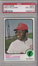 Buy 1973 Topps #297 Walt Williams Cleveland Indians PSA NM-MT 8