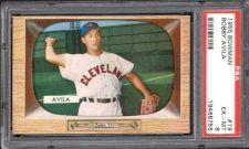 Buy 1955 Bowman #19 Bobby Avila Cleveland Indians PSA 6 EX-MT