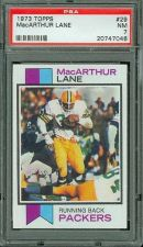 Buy 1973 Topps Football #29 MacArthur Lane PSA 7 NM Green Bay Packers