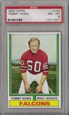 Buy 1974 Topps Football #160 Tommy Nobis PSA 8 NM-MT Atlanta Falcons