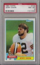 Buy 1981 Topps Football #149 Jerry Sherk Cleveland Browns PSA 8 NM-MT