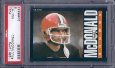 Buy 1985 Topps Football #231 Paul McDonald Cleveland Browns PSA 8 NM-MT