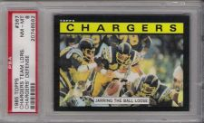 Buy 1985 Topps Football #367 PSA NM-MT 8 San Diego Chargers Team Leaders