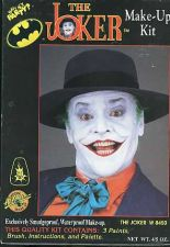 Buy 1989 The Joker Vintage Makup Kit Jack Nicholson 4.5oz Unopened box