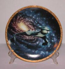 """Buy Klingon Battle Cruiser - Hamilton Collection Plate 8"""" 1994 With COA"""