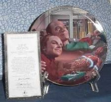 """Buy Life Signs Star TrekT Voyager - Hamilton Collection Plate - 8"""" 1995 With COA"""