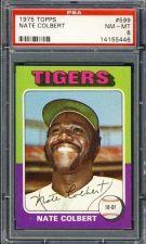 Buy 1975 Topps Baseball #599 Nate Colbert PSA NM-MT 8 Detroit Tigers