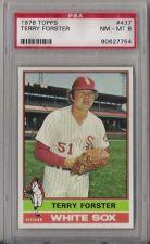Buy 1976 Topps Baseball #437 Terry Forster Chicago White Sox PSA NM-MT 8