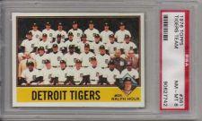 Buy 1976 Topps Baseball #361 Detroit Tigers Team w/ Ralph Houk PSA NM-MT 8