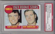 Buy 1969 Topps Baseball 114 New York Yankees Rookie Stars PSA EX-MT 6