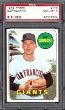 Buy 1969 Topps Baseball #125 Ray Sadecki San Francisco Giants PSA NM-MT 8