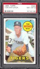 Buy 1969 Topps Baseball #344 Tom Matchick PSA NM-MT 8 Detroit Tigers