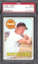 Buy 1969 Topps Baseball #363 Russ Nixon Chicago White Sox PSA NM-MT 8
