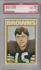 Buy 1972 Topps Football #96 Mike Phipps Cleveland Browns PSA 8 NM-MT