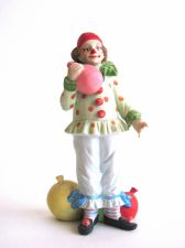 Buy Beautiful Vintage Lefton China Hand Painted Clown with Balloons, Number 05323