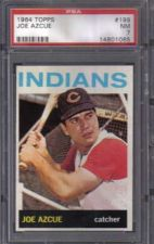 Buy 1964 Topps Baseball #199 Joe Azcue Cleveland Indians PSA NM 7