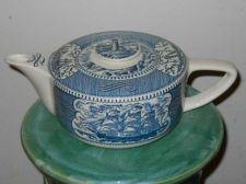 Buy Currier & Ives Tea Pot Sailing Ships