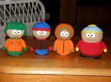 Buy 4x South Park Character Crochet PDF Pattern Digital Delivery
