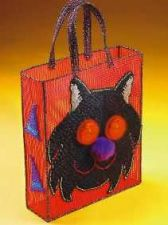 Buy Black Cat Treat Bag Plastic Canvas PDF Pattern Digital Delivery