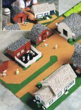 Buy Boys Fold Up Play Farm Set Plastic Canvas PDF Pattern Digital Delivery