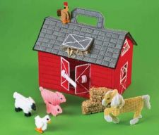 Buy Toddler Red Barn Play Set Plastic Canvas PDF Pattern Digital Delivery