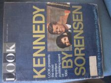 Buy Look Magazine 8-10-1965 KENNEDY by SORENSON