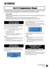 Buy Yamaha TXN V13 EN SS B0 Operating Guide by download Mauritron #205459