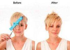 Buy Creaclip DIY Hair Trimmer Cutting - Cut Bangs extensions wig trimming clip %100