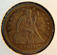 Buy 1877s Seated Liberty Quarter - VF