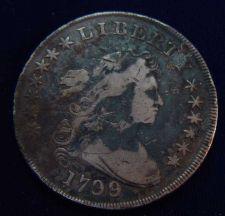 Buy 1799 Bust Silver Dollar