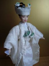 Buy Japanese Bride costume for Barbie, OOAK